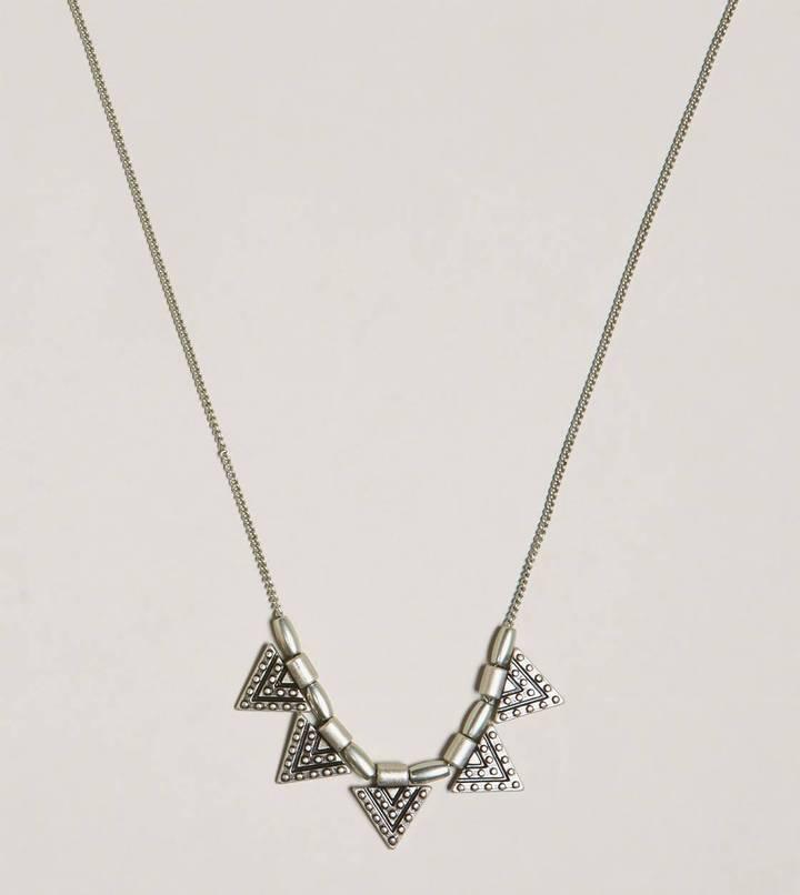 American Eagle AEO Triangle Charm Necklace