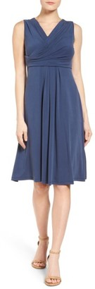 Women's Nic+Zoe City Retreat Surplice Fit & Flare Dress $158 thestylecure.com
