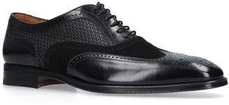 Stemar Leather Woven Oxford Brogues