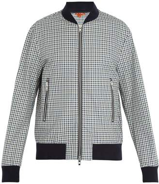 Barena VENEZIA Checked cotton bomber jacket