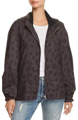 Iro . Jeans IRO.JEANS Labyrinth Leopard Print Jacket