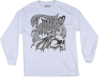 Famous Stars and Straps Men's Gothika Graphic-Print T-Shirt $26 thestylecure.com