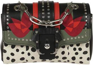 Paula Cademartori Studded Shoulder Bag