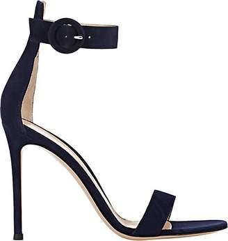 Gianvito Rossi Women's Portofino Ankle-Strap Sandals - Denim