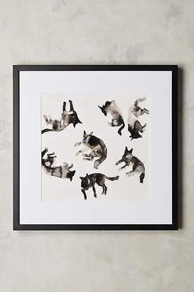 Artfully Walls Lying Dogs Wall Art