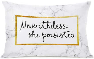 One Bella Casa Nevertheless She Persisted Pillow By Obc