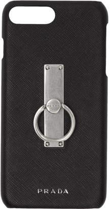 Prada Black Saffiano Ring iPhone 7and Case