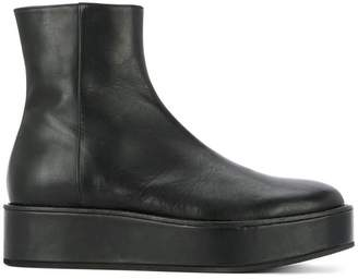 Ann Demeulemeester platform style boots