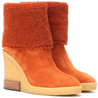 6a7a26c51f0 Orange Suede Boots - ShopStyle