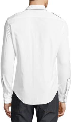 Valentino Men's Long-Sleeve Sport Shirt