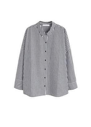 Violeta BY MANGO Gingham check shirt