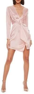 Missguided Plunge Blazer Dress