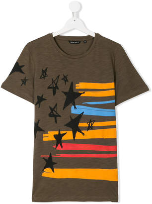 Antony Morato Junior TEEN stripes and stars T-shirt