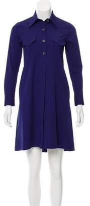 Reed Krakoff Long Sleeve Mini Dress
