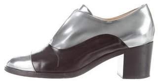 Reed Krakoff Metallic Ankle Boots
