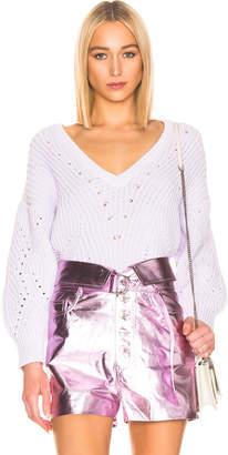 IRO Wealthy Sweater in Light Purple   FWRD
