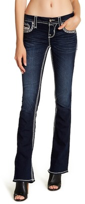 Rock Revival Faded Boot Cut Jean $169 thestylecure.com