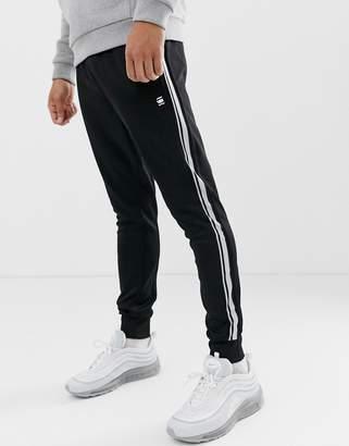 G Star G-Star Alchesai slim fit sweat joggers in black