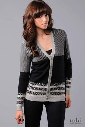 Grey Ant Cardigan Sweater