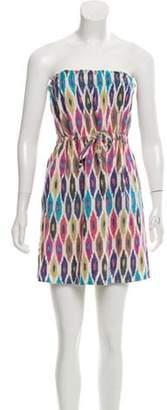 Calypso Patterned Mini Dress Patterned Mini Dress