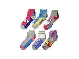 Jefferies Socks Tech Sport Quarter 6-Pack (Toddler/Little Kid/Big Kid/Adult)