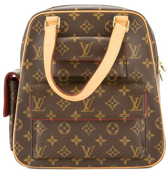 Louis Vuitton Monogram Canvas Excentri-Cite Bag