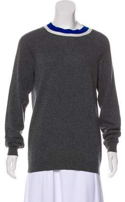Marni Cashmere-Blend Long Sleeve Sweater