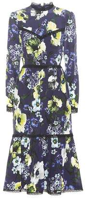 Erdem Georgie printed silk dress