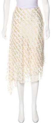 Tibi Silk Metallic Skirt w/ Tags