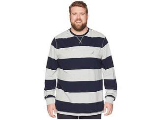 Nautica Big Tall Rugby Stripe
