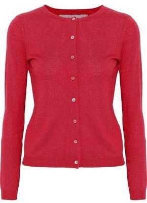 RED Valentino Knitted Cashmere And Silk-Blend Cardigan