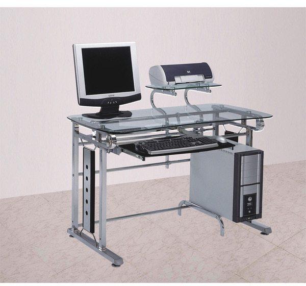 AcmeAcme Felix Chrome Computer Desk
