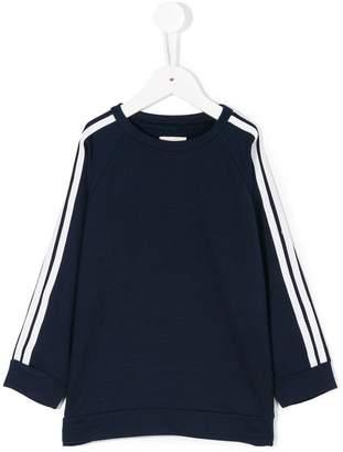 Douuod Kids stripe detail sweatshirt