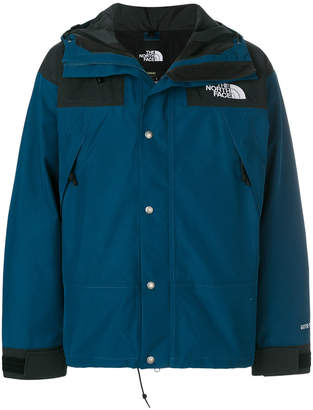 The North Face hooded rain jacket