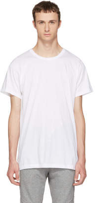John Elliott White Classic Crewneck T-Shirt