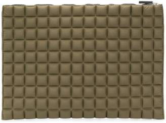 NO KA 'OI No Ka' Oi chocolate bar quilted clutch