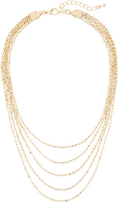 Panacea Golden Layered Choker Necklace $40 thestylecure.com