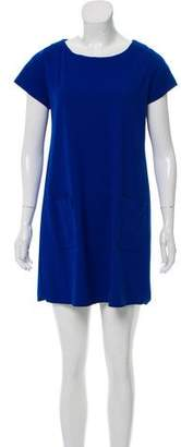 Amanda Uprichard Patch Pocket Mini Dress