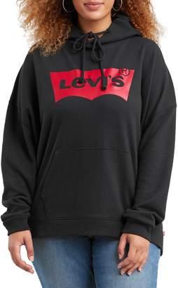 Levi's Plus Graphic Cotton Blend Hoodie