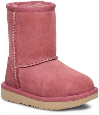 Next Girls UGG Classic II Pink Dawn Short Boot