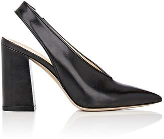 Barneys New York Women's Malto Leather Slingback Pumps