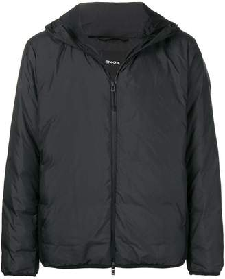 Theory hooded down jacket