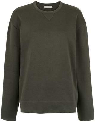 Egrey fine knit blouse