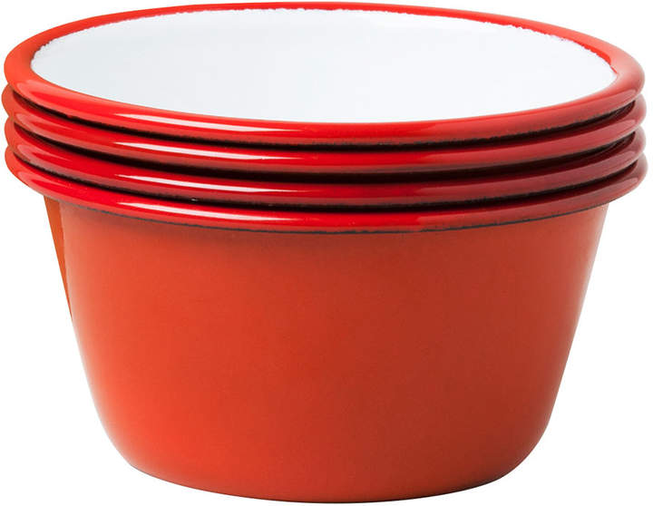 Falcon Set of 4 Bowls - Pillarbox Red