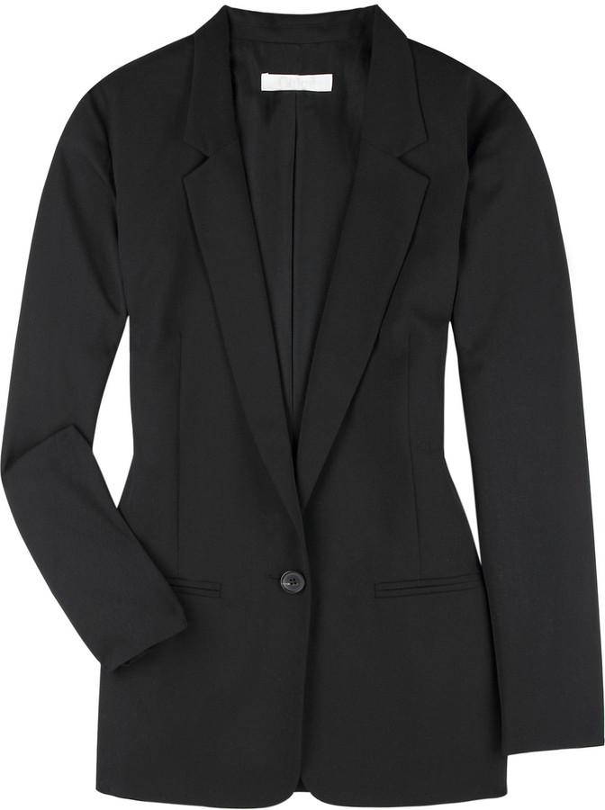 Chloé Wool gabardine blazer