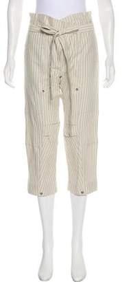 Derek Lam High-Rise Cropped Pants