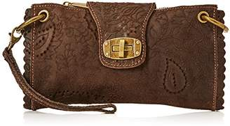 Joe Browns Women's Paradiso Embossed Leather Bag Clutch