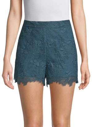 Anna Sui Women's Cupid's Clouds & Scallop Lace Shorts