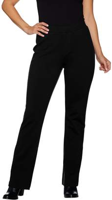 Denim & Co. Regular Lightly Bootcut Ponte Pants