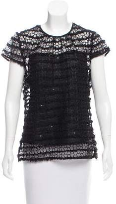 Milly Mesh Layered Top